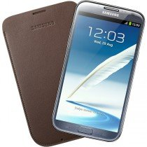 Samsung Galaxy Note 2 pouch leer bruin EFC-1J9LD