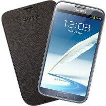 Samsung Galaxy Note 2 pouch leer chocolate EFC-1J9LC