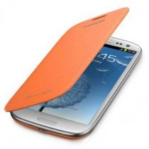 Samsung Galaxy S3 flip cover oranje EFC-1G6FOECSTD