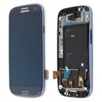 Display module Samsung Galaxy S3 GT-i9300 blauw - GH97-13630A