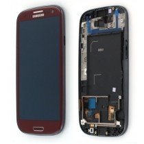 Display module Samsung Galaxy S3 GT-i9300 rood - GH97-13630C