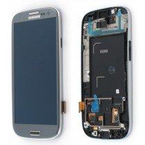 Display module Samsung Galaxy S3 GT-i9300 zilver - GH97-13630F