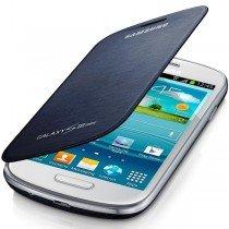 Samsung Galaxy S3 Mini flip cover blauw EFC-1M7FB