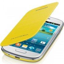 Samsung Galaxy S3 Mini flip cover geel EFC-1M7FY