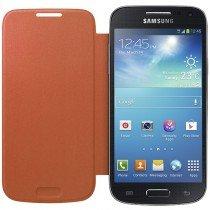 Samsung Galaxy S4 Mini flip cover oranje EF-FI919BOEGWW