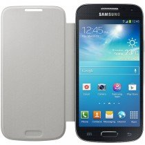 Samsung Galaxy S4 Mini flip cover wit EF-FI919BWEGWW