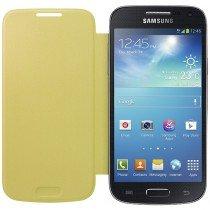 Samsung Galaxy S4 Mini flip cover geel EF-FI919BYEGWW