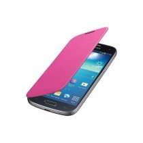 Samsung Galaxy S4 Mini flip cover roze