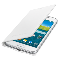 Samsung Galaxy S5 Mini Flip Cover wit EF-FG800BW