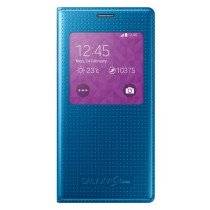 Samsung Galaxy S5 Mini S-View cover (dot) blauw EF-CG800BE
