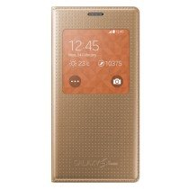 Samsung Galaxy S5 Mini S-View cover (dot) gold EF-CG800BD