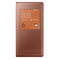 Samsung Galaxy S5 Mini S-View cover rose gold EF-CG800BF