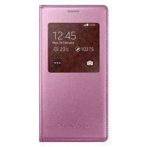 Samsung Galaxy S5 Mini S-View cover roze EF-CG800BP