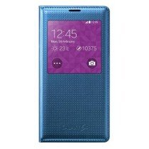 Samsung Galaxy S5 S-View cover (dot) Electric Blue EF-CG900BE
