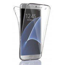 Samsung Galaxy S6 Edge TPU hoesje voor + achter