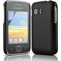 Hard case Samsung Galaxy Y S5360 zwart