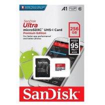 Sandisk Ultra Class 10 kaart 256GB C10/UHS-1