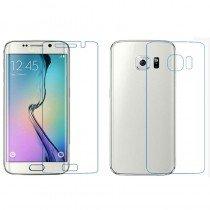 Screenprotector Samsung Galaxy S6 Edge voor + achter