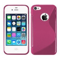 Silicon TPU case Apple iPhone 4/4S roze