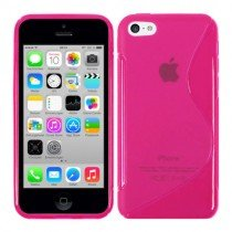 Silicon TPU case Apple iPhone 5C roze