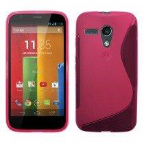 Silicon TPU case Motorola Moto G roze