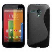 Silicon TPU case Motorola Moto G zwart