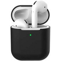 Siliconen hoesje voor Apple Airpods zwart