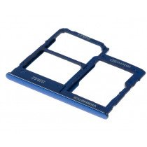 Sim kaart houder - Samsung Galaxy A40 - blauw