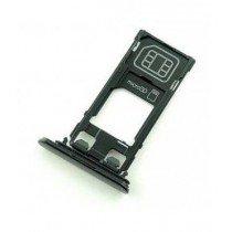 Sim en Micro SD kaart houder - Sony Xperia XZ zwart