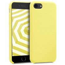 Softcase hoesje Apple iPhone SE (2020) mat - geel