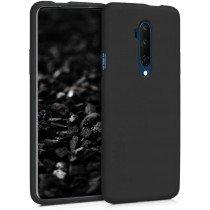 Softcase hoesje OnePlus 7T Pro mat - zwart