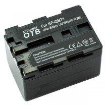 Accu Sony NP-QM71 Li-ion 2600 mAh