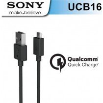 Sony Micro USB kabel UCB-16 - Qualcomm quick charge