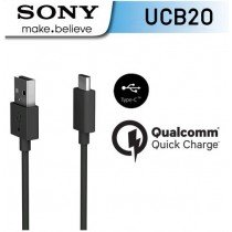 Sony USB-C naar USB kabel zwart - UCB20