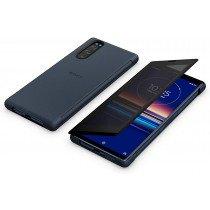 Sony Xperia 5 Smart Style Cover SCVJ10 blauw