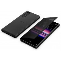 Sony Xperia 5 Smart Style Cover SCVJ10 zwart