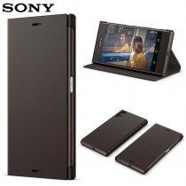 Sony Xperia XA1 Style Cover Flip SCSG30 zwart