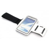 Sport armband Samsung Galaxy Note N7000 wit