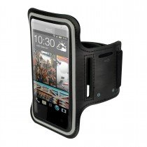 Sport armband HTC Desire 320 zwart