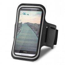 Sport armband HTC Desire 820 zwart