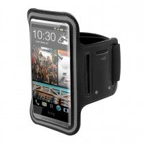 Sport armband HTC One Mini zwart