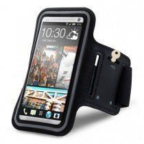 Sport armband HTC One zwart