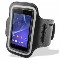 Sport armband Huawei Ascend P6 zwart