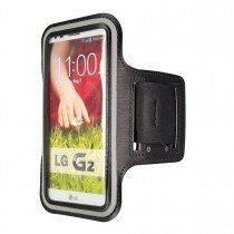 Sport armband LG G2 zwart