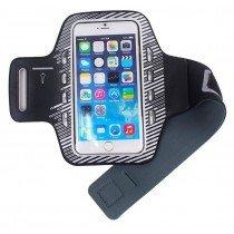 Sport armband met LED verlichting universeel - 3XL - zwart