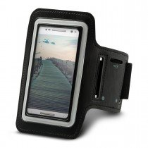 Sport armband Motorola Moto G4 Plus zwart