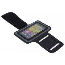 Sport armband Nokia Lumia 530 zwart