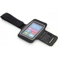 Sport armband Samsung ATIV S i8750 zwart