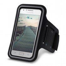 Sport armband Samsung Galaxy J1 zwart