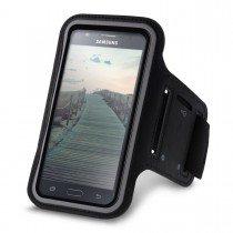 Sport armband Samsung Galaxy J5 zwart